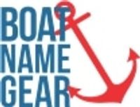 Boat Name Gear coupons
