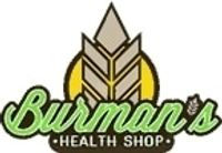 Burman's Health Shop coupons