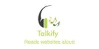 Talkify coupons